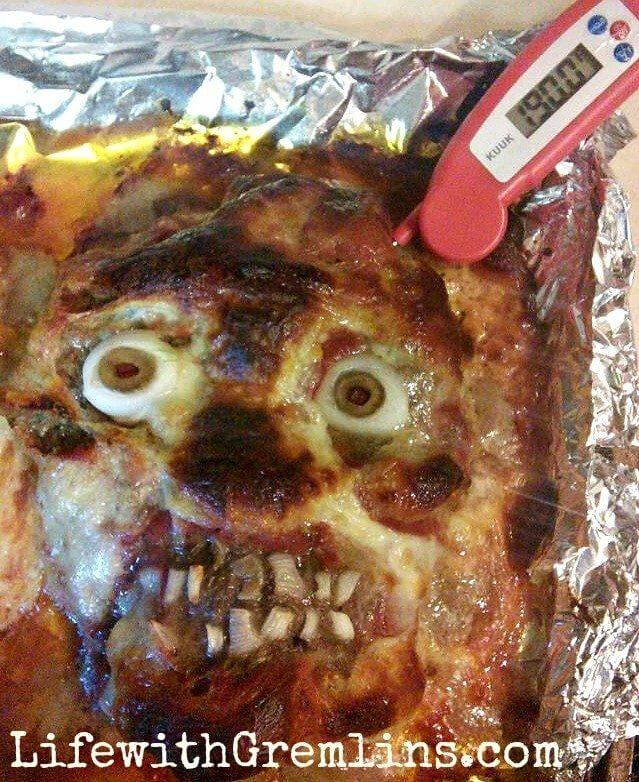 Halloween Party Ideas Meatloaf Head Recipe Life With