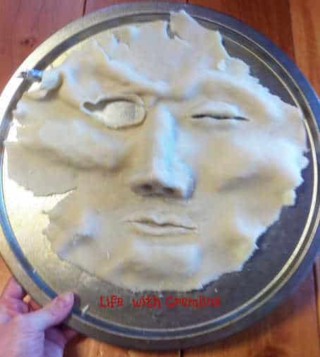 Halloween desserts pie face